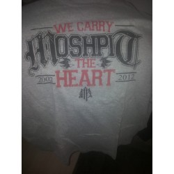 Moshpit - We Carry The Heart Shirt Size M