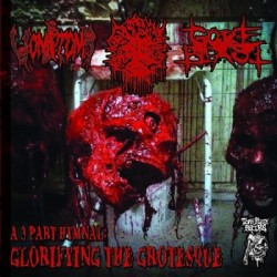Vomitomb/Blasphemation/Gore Blast - A 3 Part Hymnal: Glorifying the Grotesque (Split)