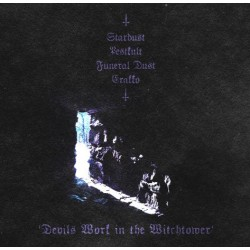 Funeral Dust / Pestkult / Erakko / Stardust - Devils Work in the Witchtower (Split)