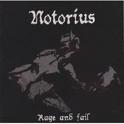 Notorius - Rage And Fail EP