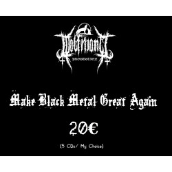 Make Black Metal Great Again 20€