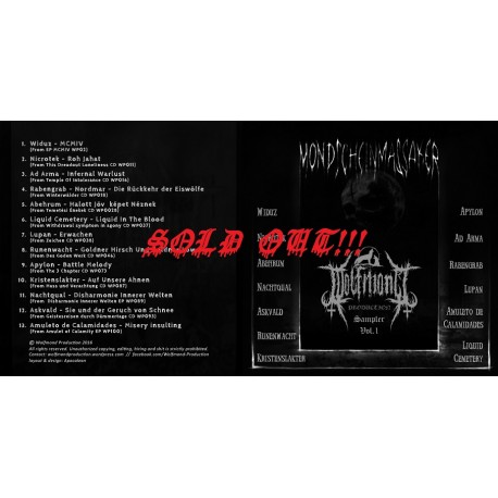 "Wolfmond Production ""Mondscheinmassaker"" Sampler Vol. 1 (CD-R)"