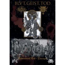 BlutEck/ Morbid Contempt - Blvt.Geist.Tod. Split  POSTER