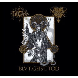 BlutEck/ Morbid Contempt - Blvt.Geist.Tod. Split  + POSTER