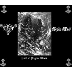 1389/ShadowWolf - Pact Of Pagan Blood (Split)