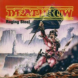 Deathrow – Raging Steel LP (Gebraucht)