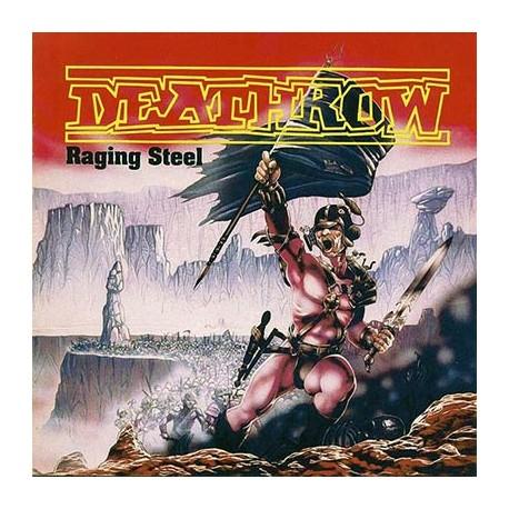 Deathrow – Raging Steel LP (Gebraucht)