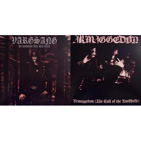 Vargsang / Armaggedon Split LP