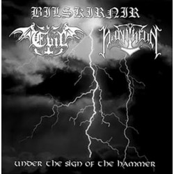 Bilskirnir/ Evil/ Pantheon - Under The Sign Of The Hammer (Split LP)